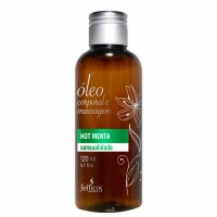 Óleo Corporal e Massagem Hot Menta – 120 ml