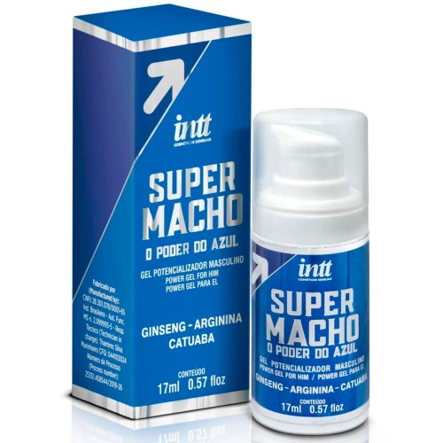 Super Macho Gel, Potencializador do Orgasmo Masculino – 17 ml