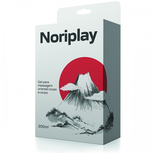 Noriplay - Gel para Massagem Oriental Corpo a Corpo – 200 ml